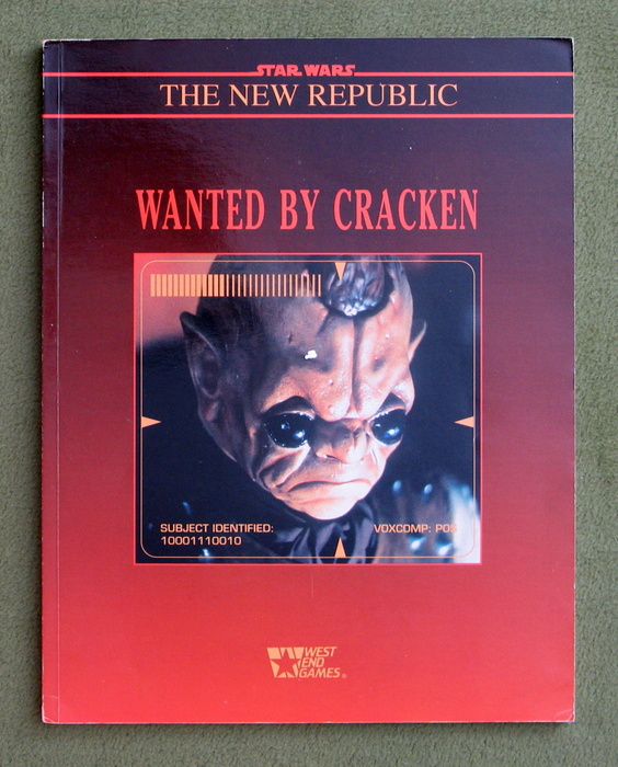 Image for Wanted By Cracken (Star Wars RPG)