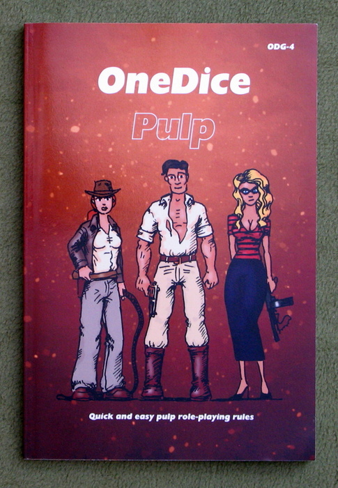 Image for OneDice Pulp: Quick and easy pulp role-playing rules