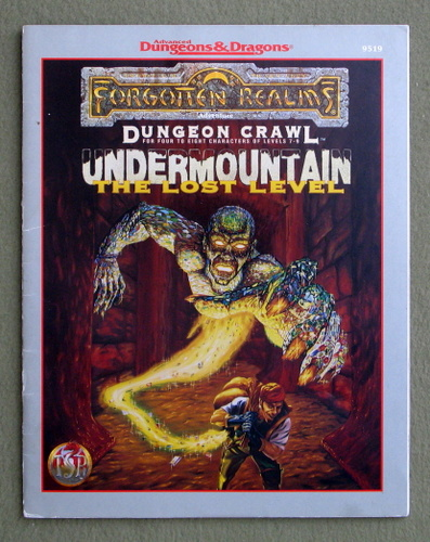 Image for Undermountain: The Lost Level (Advanced Dungeons & Dragons: Forgotten Realms Dungeon Crawl Module)