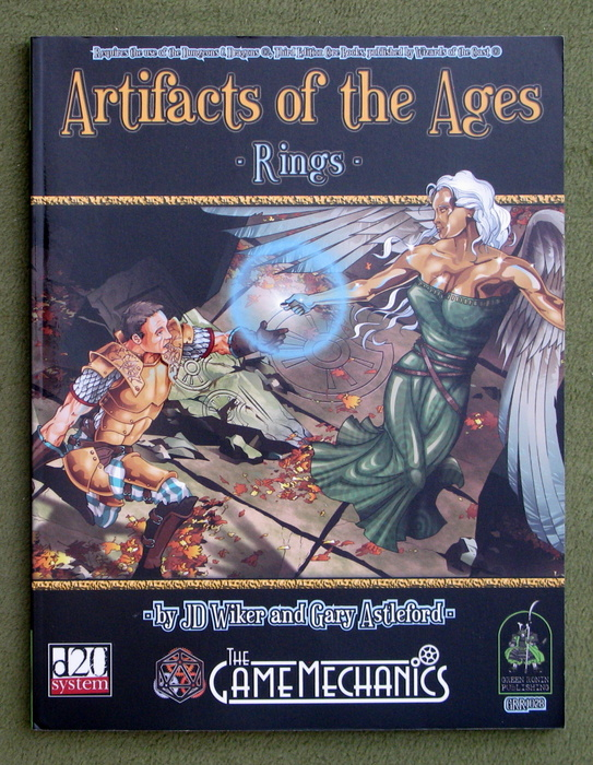 Image for Artifacts of the Ages: Rings (D20 System)
