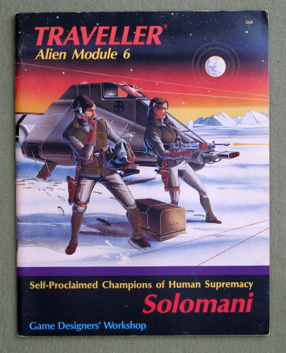 Image for Solomani (Traveller Alien Module 6)