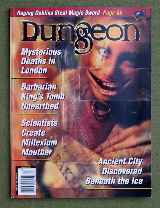 Image for Dungeon Magazine, Issue 83