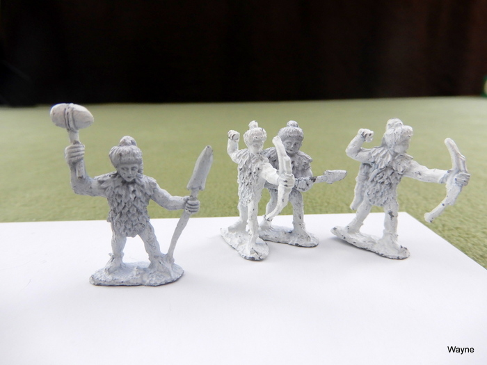 Image for GRENS: 4 Grenadier Gamma World miniatures