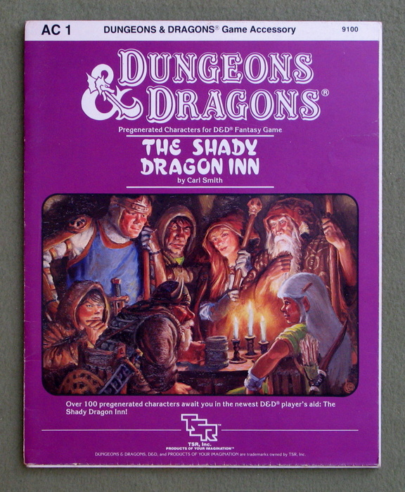 Image for The Shady Dragon Inn (Dungeons & Dragons accessory AC1)