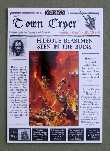 Image for Town Cryer, Issue 7 (Mordheim)