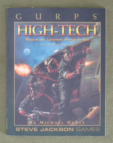 Image for GURPS High Tech: Weapons and Equipment Through the Ages (Second Edition)