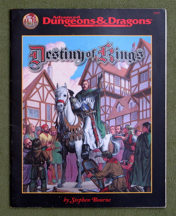 Image for Destiny of Kings (Advanced Dungeons & Dragons)