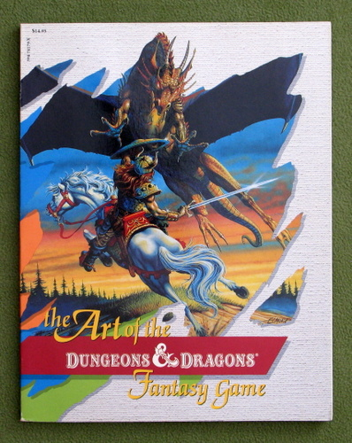 Image for The Art of the Dungeons and Dragons Fantasy Game
