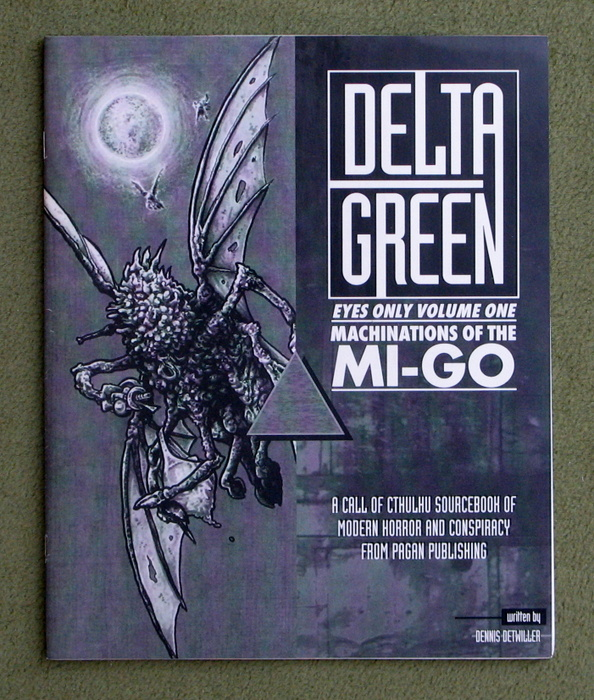 Image for Machinations of the Mi-Go (Cthulhu: Delta Green Eyes Only, Volume One)