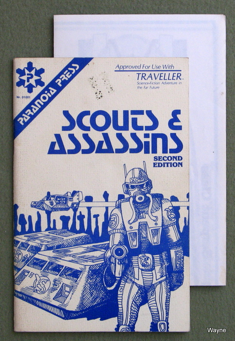 Image for Scouts & Assassins, 2nd Edition (Traveller RPG)