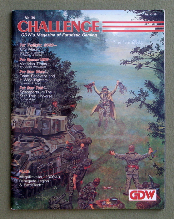 Image for Challenge Magazine, Issue 35