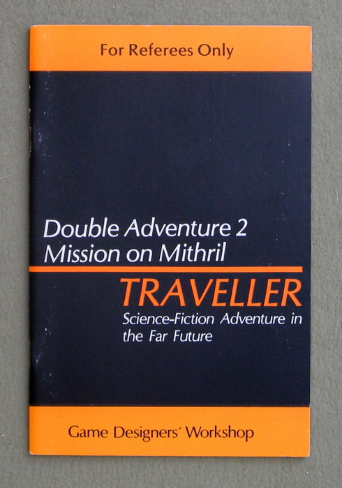 Image for Traveller Double Adventure 2: Across the Bright Face / Mission on Mithril - 1ST PRINT