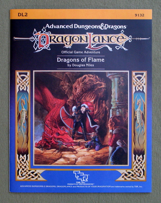 Image for Dragons of Flame (Advanced Dungeons & Dragons: Dragonlance module DL2)