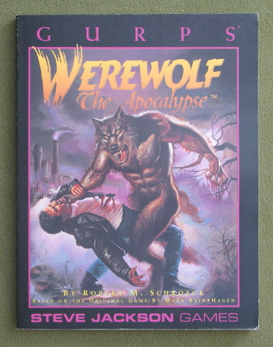 Image for GURPS Werewolf: The Apocalypse