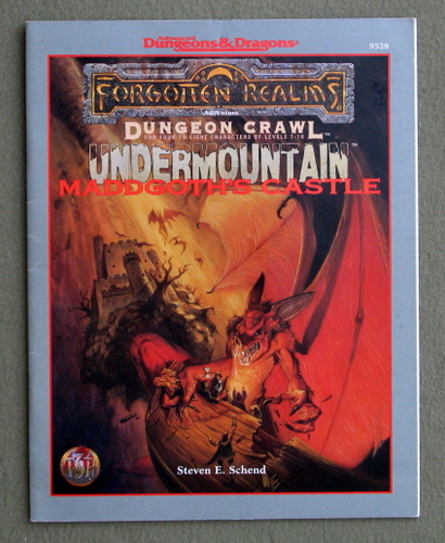 Image for Maddgoth's Castle (Advanced Dungeons & Dragons Dungeon Crawl: Undermountain Trilogy)