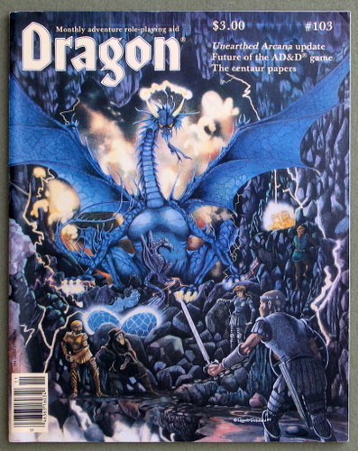 Image for Dragon Magazine, Issue 103