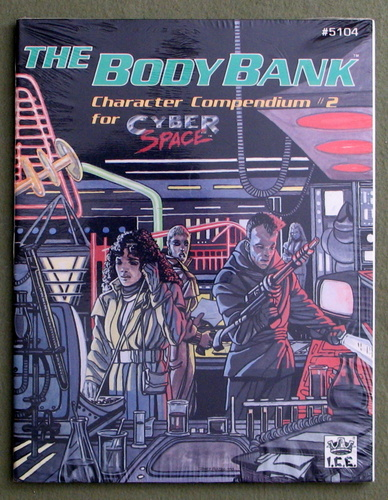 Image for The Body Bank: Character Compendium #2 (Cyberspace)