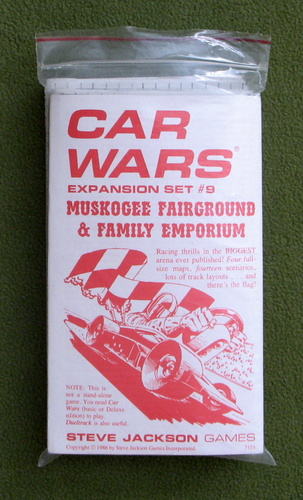 Image for Muskogee Fairground & Family Emporium (Car Wars Expansion Set #9)