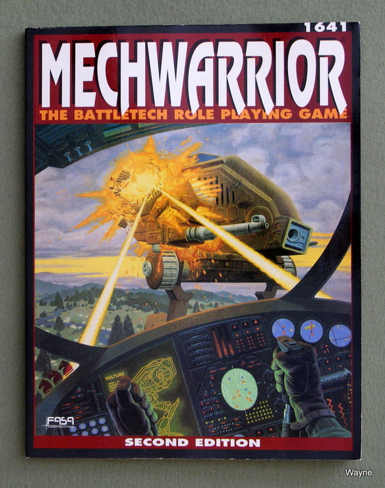 Image for Mechwarrior: The Battletech Role Playing Game (2nd Edition)