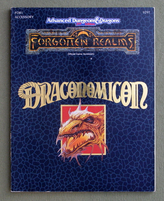Image for Draconomicon (Advanced Dungeons & Dragons: Forgotten Realms Accessory FOR1)