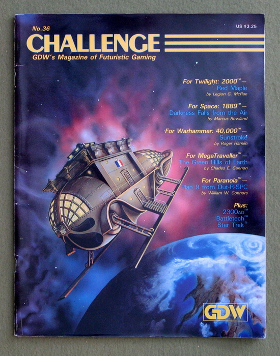 Image for Challenge Magazine, Issue 36