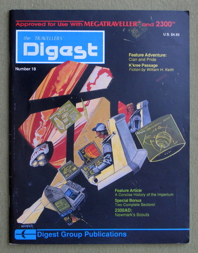 Image for Travellers' Digest, Issue 18 (Traveller/Megatraveller)
