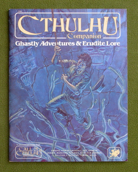 Image for Cthulhu Companion: Ghastly Adventures & Erudite Lore (Call of Cthulhu RPG)