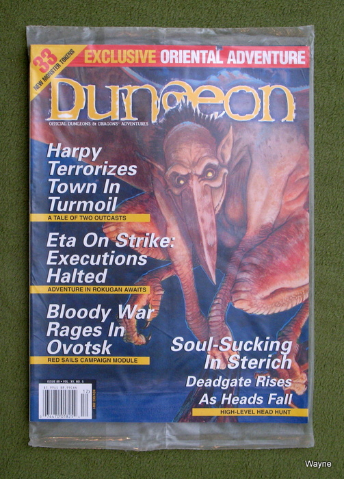 Image for Dungeon Magazine, Issue 89 - STILL IN POLYBAG