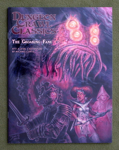 Image for The Croaking Fane (Dungeon Crawl Classics #77) - Color Cover