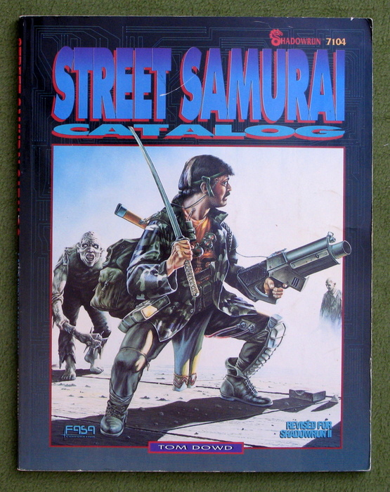 Image for Street Samurai Catalog (Shadowrun, 2nd Edition)