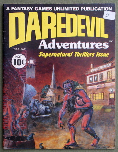 Image for Daredevils Adventures 3: Supernatural Thrillers