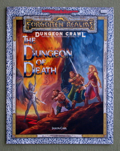 Image for The Dungeon of Death: A Dungeon Crawl Adventure (Advanced Dungeons and Dragons: Forgotten Realms)