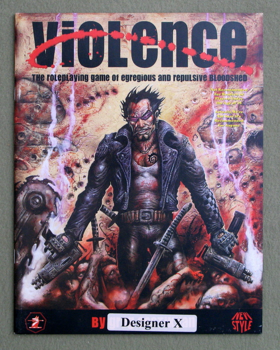 Image for Violence: The Roleplaying Game of Egregious and Repulsive Bloodshed