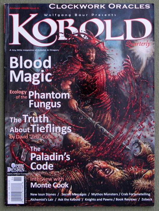 Image for Kobold Quarterly Magazine, Issue 6