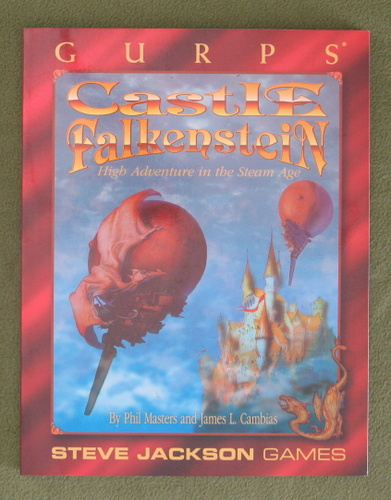 Image for GURPS Castle Falkenstein: High Adventure in the Steam Age