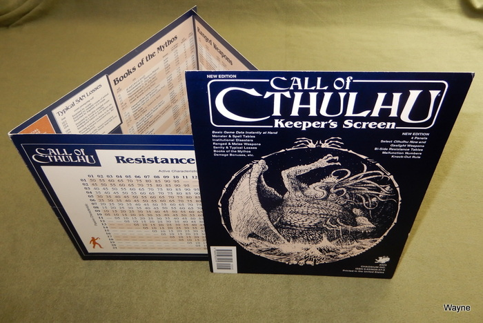 Image for Call of Cthulhu Keeper's Screen