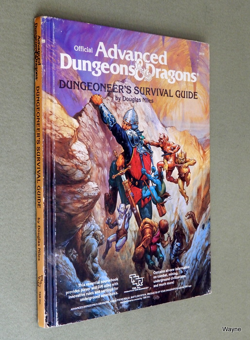 Image for Dungeoneer's Survival Guide (Advanced Dungeons & Dragons) - PLAY COPY