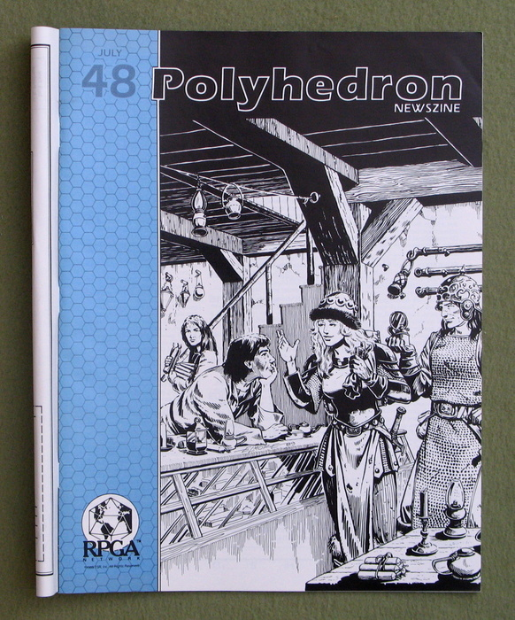 Image for Polyhedron Magazine, Issue 48