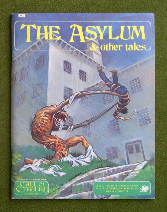 Image for The Asylum and Other Tales (Call of Cthulhu RPG)