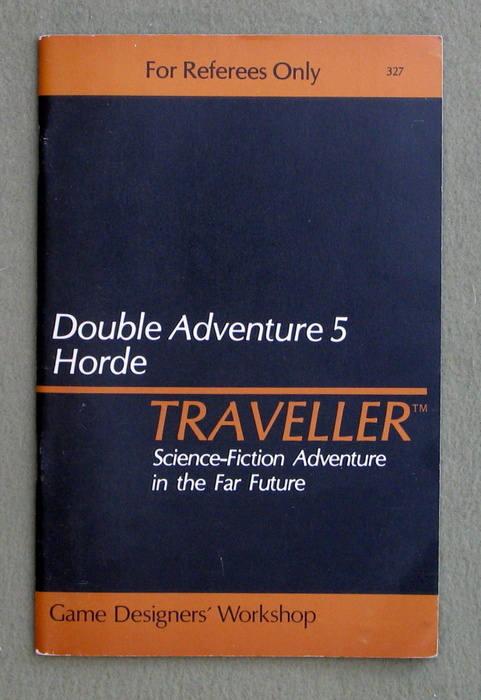 Image for Traveller Double Adventure 5: The Chamax Plague / Horde - 1ST PRINT
