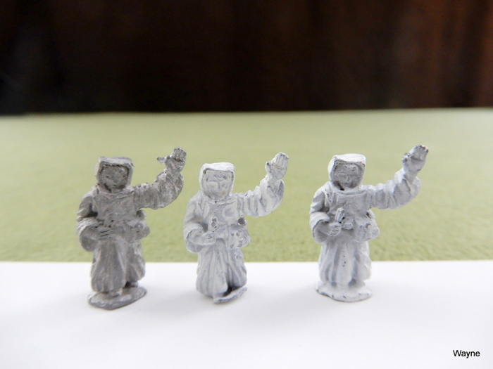 Image for HEALERS: 3 Grenadier Gamma World miniature