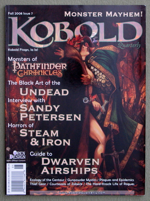 Image for Kobold Quarterly Magazine, Issue 7