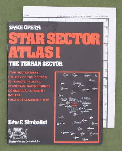 Image for Star Sector Atlas 1 - The Terran Sector (Space Opera)