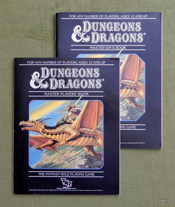 Image for Dungeons & Dragons Master Player's Book & Master DM's Book [BOOKS ONLY]