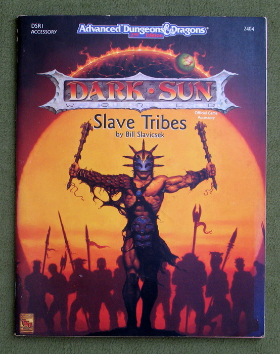 Image for Slave Tribes (Advanced Dungeons & Dragons: Dark Sun Accessory DSR1)