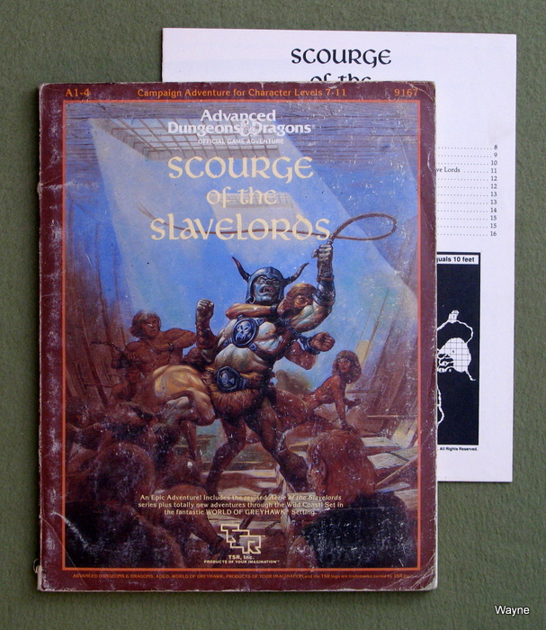 Image for Scourge of the Slavelords Supermodule A1-4 (Advanced Dungeons and Dragons) - HEAVY WEAR
