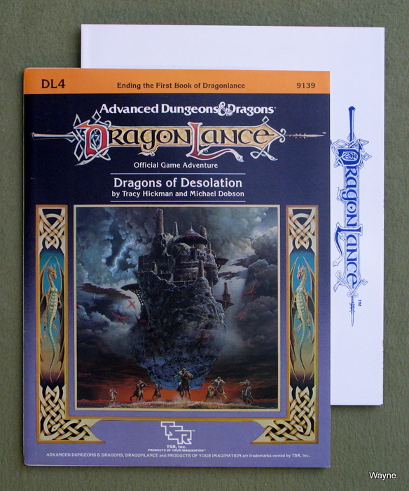 Image for Dragons of Desolation (Advanced Dungeons & Dragons: Dragonlance module DL4)