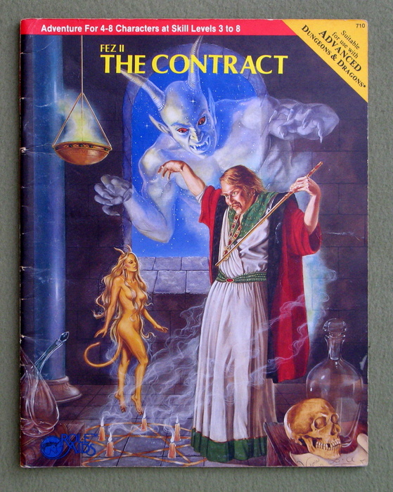 Image for Fez II: The Contract (Advanced Dungeons & Dragons: Role Aids)