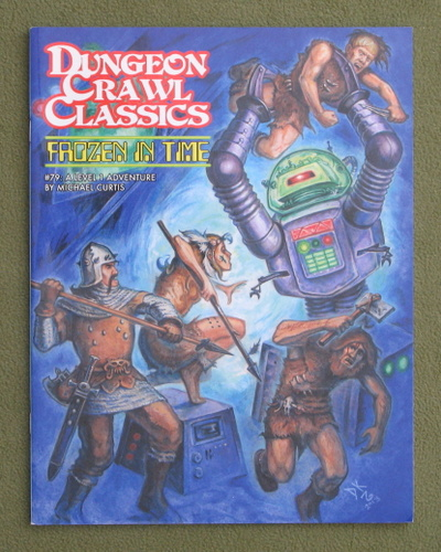 Image for Frozen in Time (Dungeon Crawl Classics #79) - Color Cover