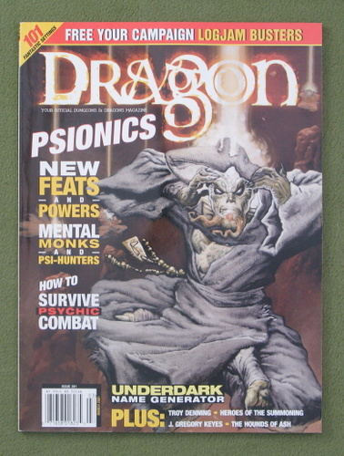 Image for Dragon Magazine, Issue 281